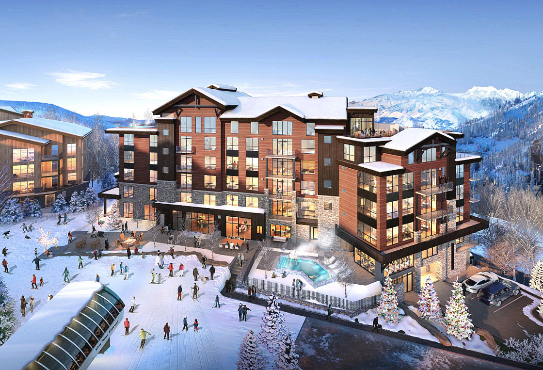 Argent Deer Valley Exterior Rendering