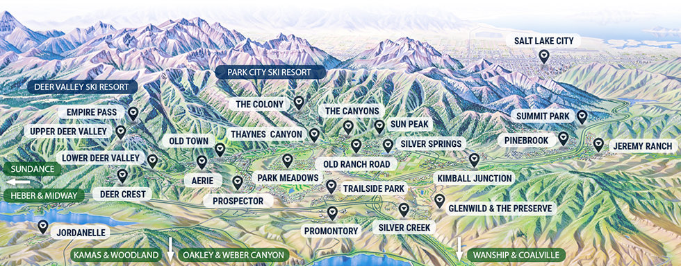 Park City Communities Map