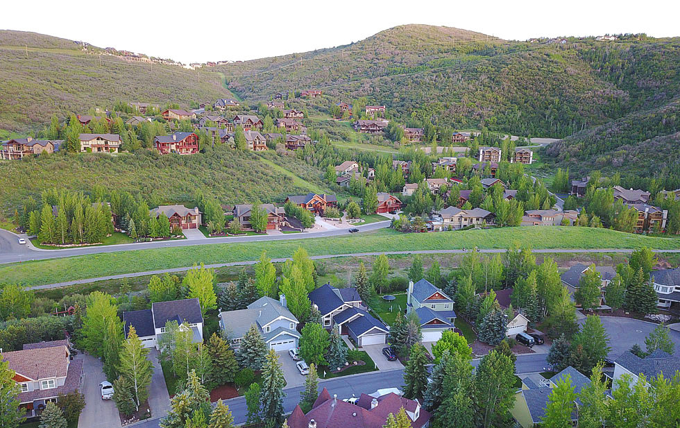 Prospector neighborhood in Park City Utah