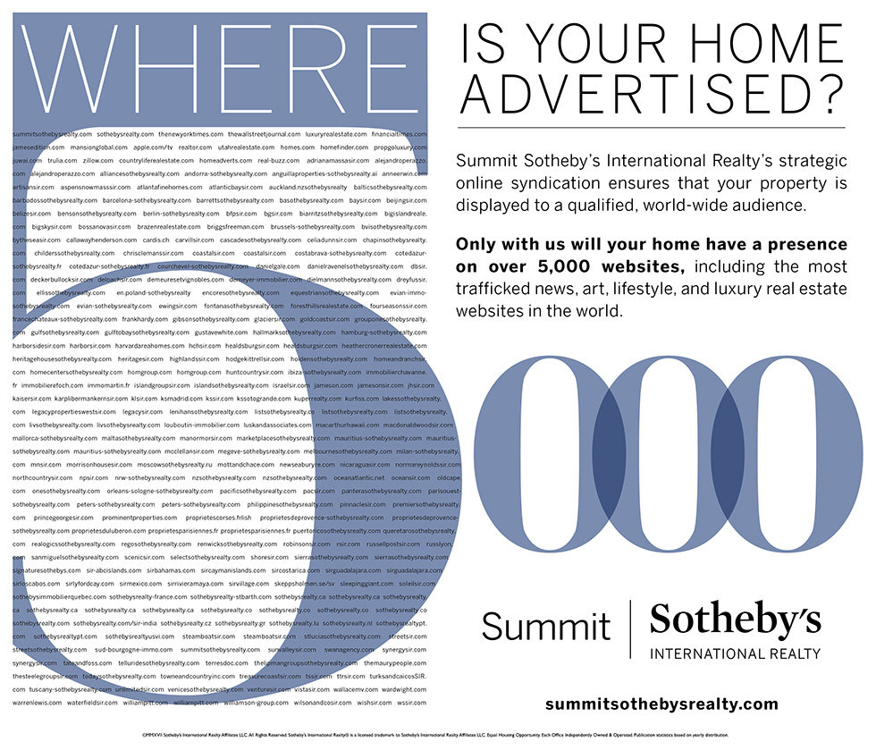 Sothebys 5000 luxury real estate websites