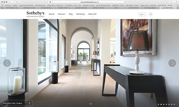 Sothebys Realty website