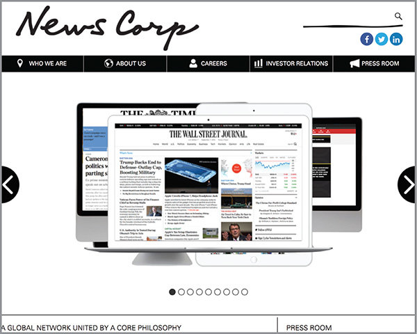 news corp website