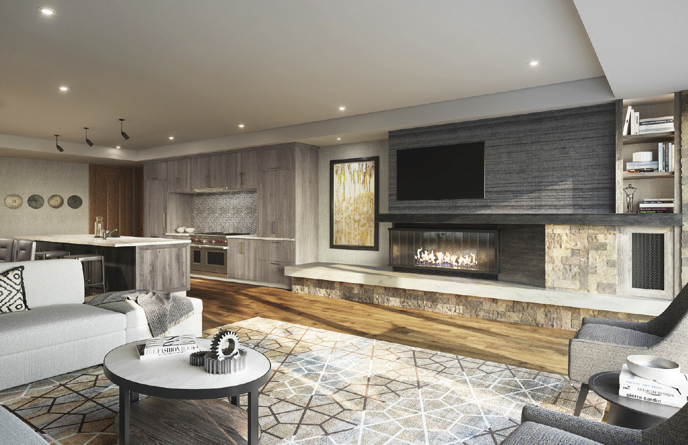 St. Regis Deer Valley Snow Park Residences Living Room