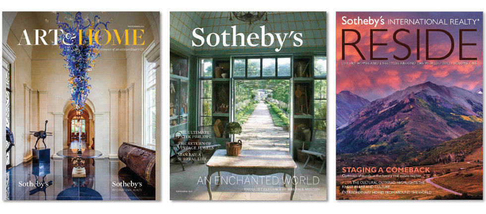 Sotheby's global and regional magazines