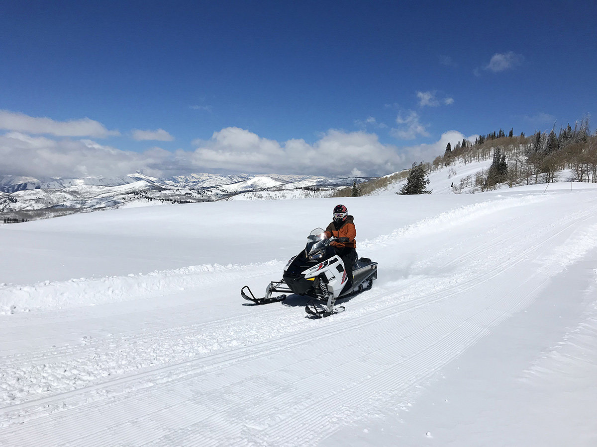snowmobiling near park city utah
