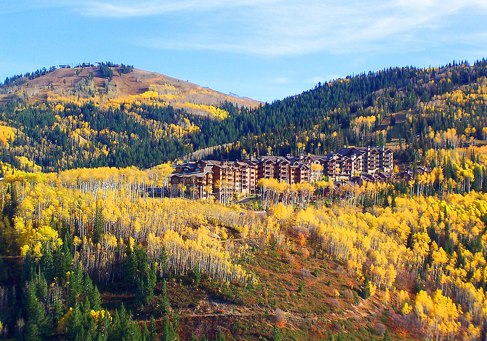 fall colors in park city's empire pass