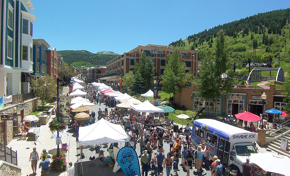 silly market on park city main street