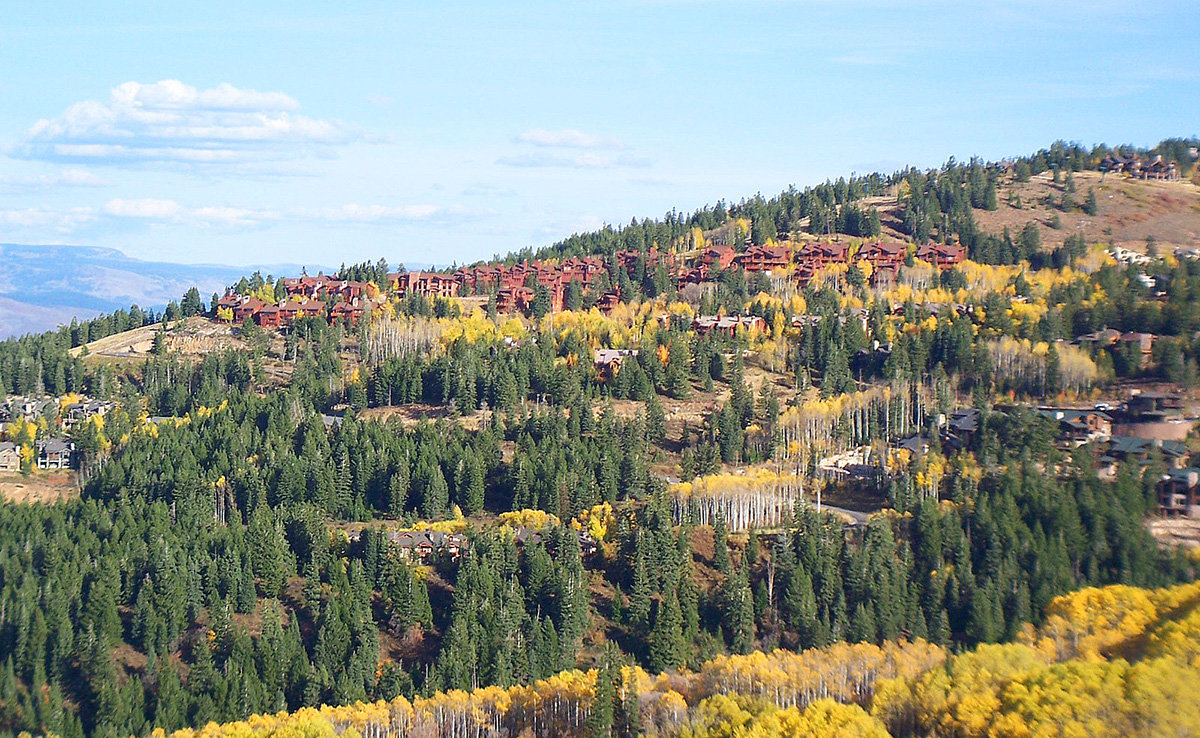 fall colors at deer valley resort
