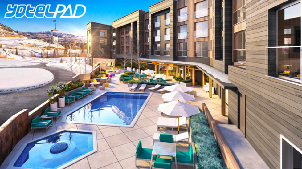 YotelPad Park City pools