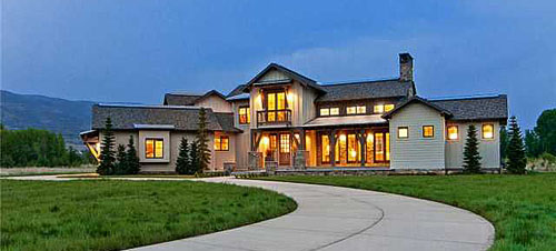 The hgtv 2012 dream home now listed for sale with summit Www dreamhome