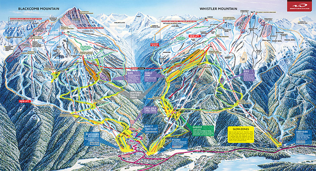 Vail Resorts Buying Whistler Blackb Ski Resort: Park City Mountain Map At Slyspyder.com